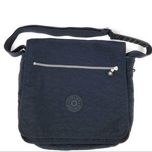 Kipling Navy Madhouse Expandable Messenger Bag
